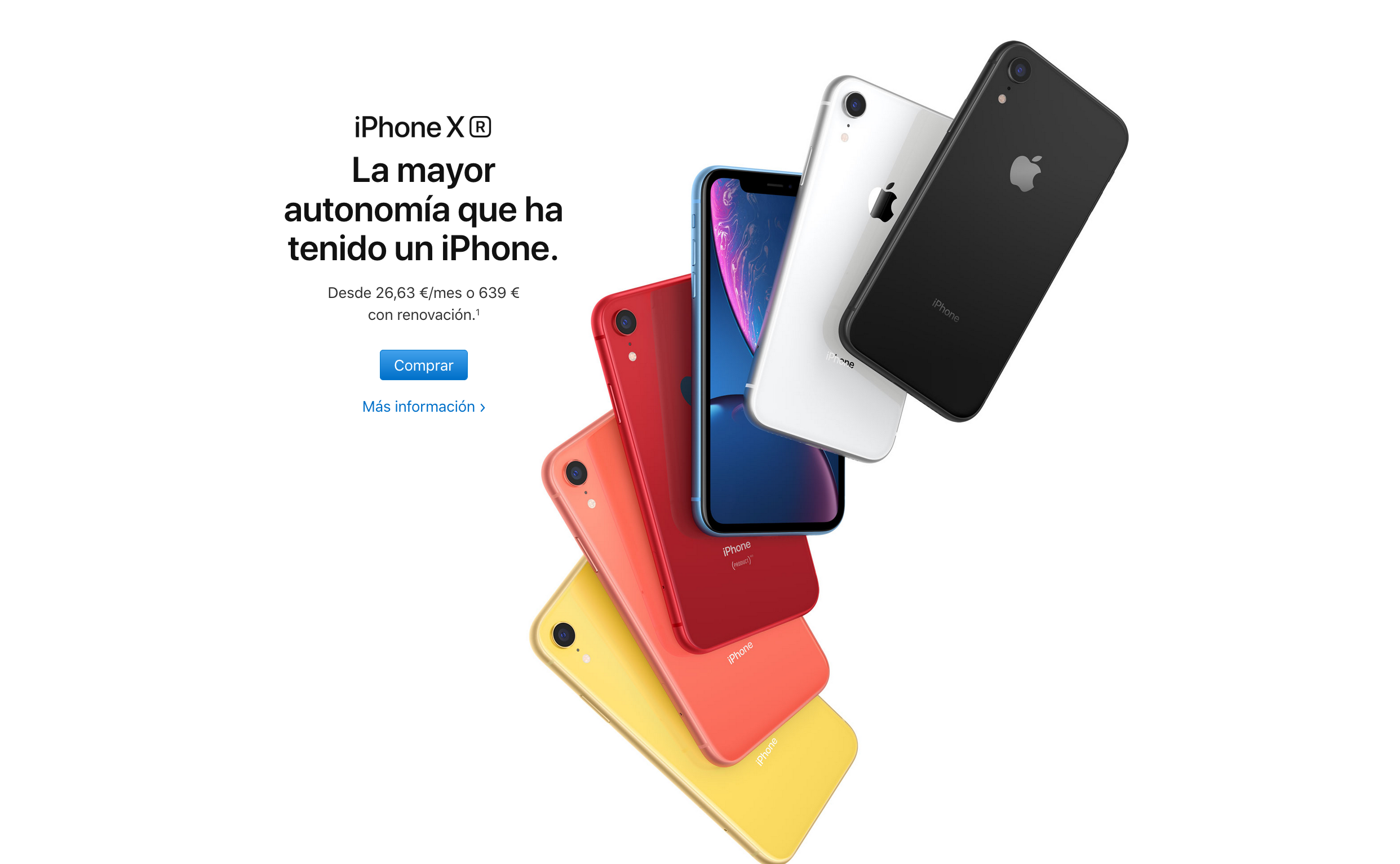 La experiencia de usuario de Apple